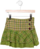Catimini Girls' Wool Skirt