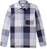Club Monaco Checked Cotton Shirt