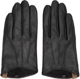 Mackage Black Lambskin Alisee Gloves