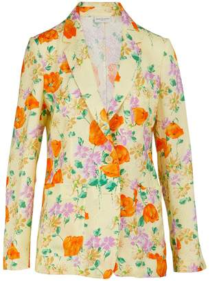 Dries Van Noten Printed lightweight blazer