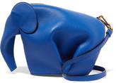 Loewe Elephant Leather Shoulder Bag - Blue