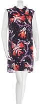 Mary Katrantzou Crystal Print Silk Dress