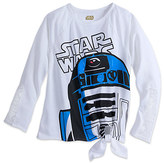 Disney R2-D2 Long Sleeve Tee for Women - Star Wars