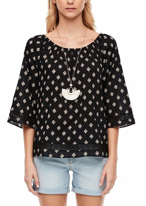 S'Oliver Women's Bluse 3/4 Arm Blouse