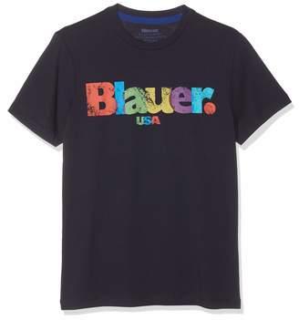 Blauer Men's T-Shirt Manica Corta Blue (BLU 888) S