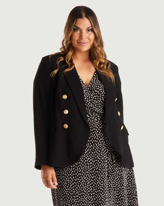 Estelle Women's Blazers - Clever Jacket - Size One Size, 8 at The Iconic