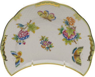 Herend Queen Victoria Crescent Salad Plate