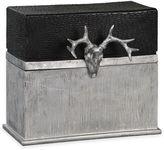 Uttermost Adil Box in Silver/Black