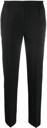 Etro Elasticated Waist Slim-Fit Trousers