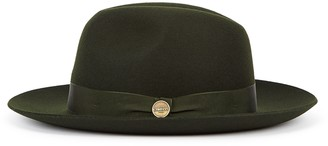Christys London Christys' London Witan Forest Green Wool Felt Fedora