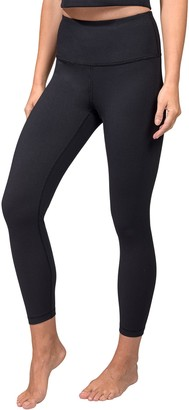 90 Degree By Reflex Ribbed High Waist 7/8 Ankle Leggings