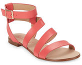 Splendid Caracas Leather Asymmetrical Strap Sandals