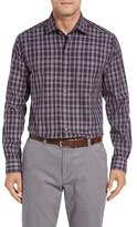 Cutter & Buck Men's Terrain Plaid Sport Shirt