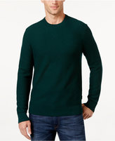 Michael Kors Men's Waffle-Knit Crew-Neck Sweater