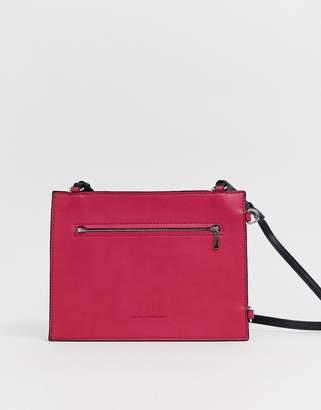 French Connection Dexter crossbody handbag