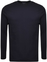Aquascutum London Southport T Shirt Navy