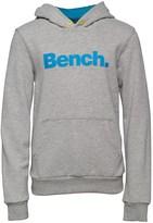 Bench Boys Core Hooded Sweatshirt Grey Marl