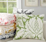 Pottery Barn Damask Print Pillow Cover