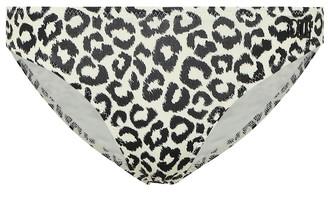 Solid & Striped The Eva leopard-print bikini bottoms