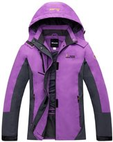 Wantdo Women's Quick Dry Fabric With Warm Jacket For Mountain