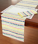 Kate Spade Hopscotch Dotted Cotton Table Linens