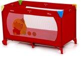 Babyland Hauck 601112 lit parapluie en tissu Pooh rouge.