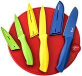 Fiesta 7-pc. Cutlery Set with Cutting Board