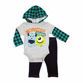 Disney Boys Monsters University Pant Set NB-9M