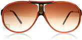 Sxuc Paramount Sunglasses Orange / Brown 22635 60mm