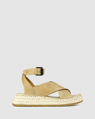 EOS Women's Neutrals Sandals - Larax - Size One Size, 38 at The Iconic