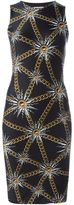 Fausto Puglisi sun and chain print dress - women - Polyamide/Spandex/Elastane - 38