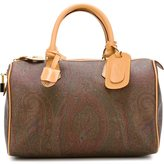 Etro paisley print tote - women - Cotton/Leather/Polyester/PVC - One Size