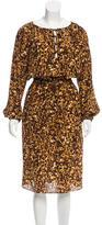 Altuzarra Silk Printed Dress
