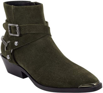 Sigerson Morrison Jade Distressed Leather Booties