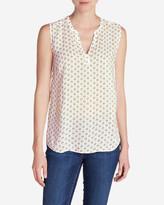 Eddie Bauer Women's Sunrise Sleeveless Popover Shirt