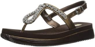 Volatile Women's Jeweled Wedge Sandal
