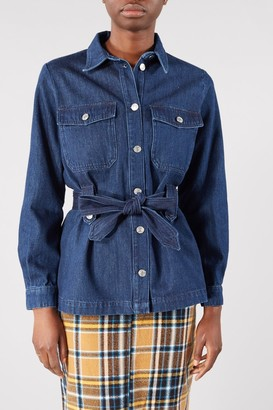Selected DARK BLUE DENIM DANA JACKET - 34