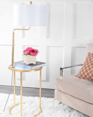 Safavieh Crispin Side Table Floor Lamp