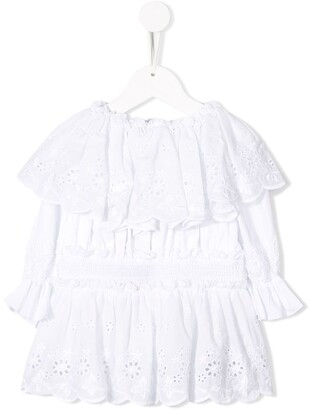 Dolce & Gabbana Broderie Anglaise Blouse