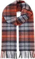 Jaeger Highlight Check Scarf