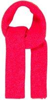 Celine Wool & Mohair-Blend Knit Scarf