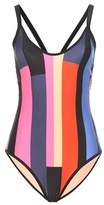 P.E Nation Shake Down Printed Swimsuit