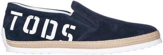 Tod's Slip On Logo Sneakers
