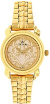 Titan Analog Off-White Dial Women's Watch-2534YM04