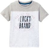 Lucky Brand Coastal Luck Clover Tee (Toddler Boys)