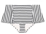Tory Burch Sail Stripe Skirted Bottom