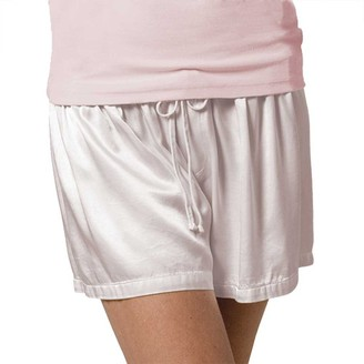 PJ Harlow Women's Mikel Satin Boxer Short with Draw String