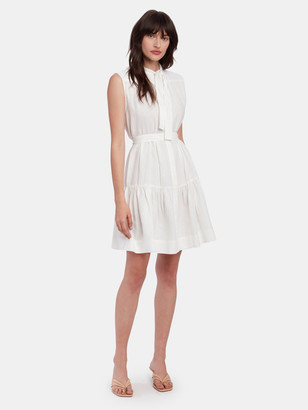 LES COYOTES DE PARIS Nora Sleeveless Linen Dress