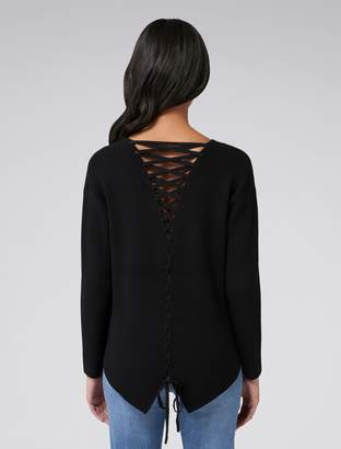 Ever New Toni Lace Back Sweater