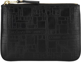 Comme des Garcons Embossed Coin Purse